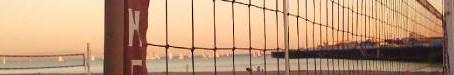 Beach volleyball is back in Santa Cruz...