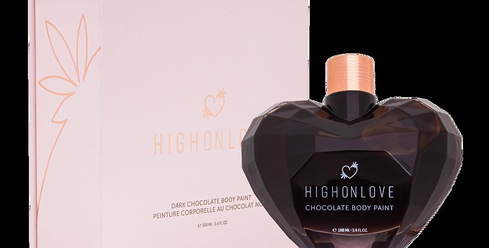 HighOnLove Dark Chocolate  Body Paint