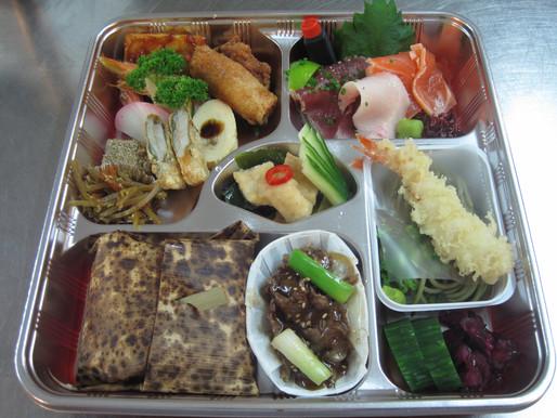 Sashimi, Agemono, Soba, Veg.JPG