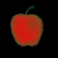 Fuzzy apple