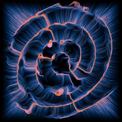 Sunset labyrinth