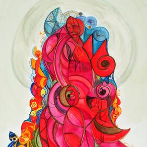 Sacred Entanglements $1350 USD