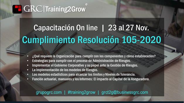 Riesgos Training2Grow Capacitación Onlin