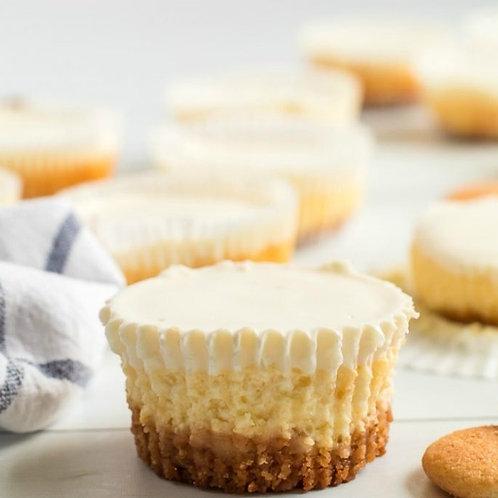 6 Cheesecake Cupcakes