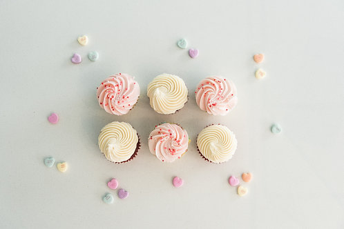 6 Cupcakes - Mixed Pack