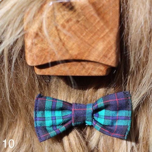Bow Tie - Green Tartan