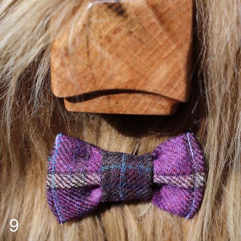 Bow Tie - Lilac Tweed