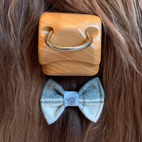 Tweed Bow Tie - Seaglass
