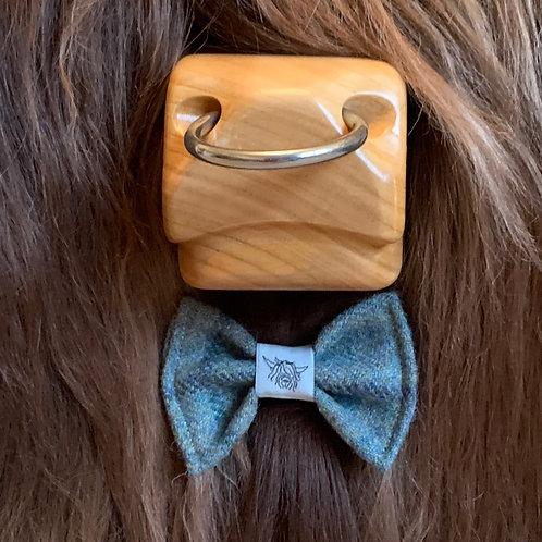 Tweed Bow Tie - Ocean