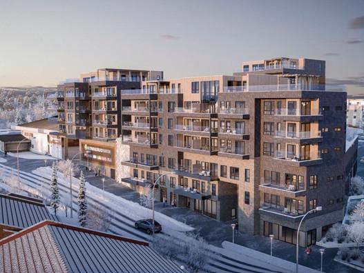 Termoenergi utfører Bygningsfysisk prosjektering Konnerud Senter Panorama