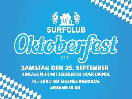 Surfclub Oktoberfest 25 September