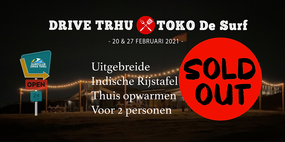 "Drive thru Toko ""De Surf"" 27 Februari 2021"