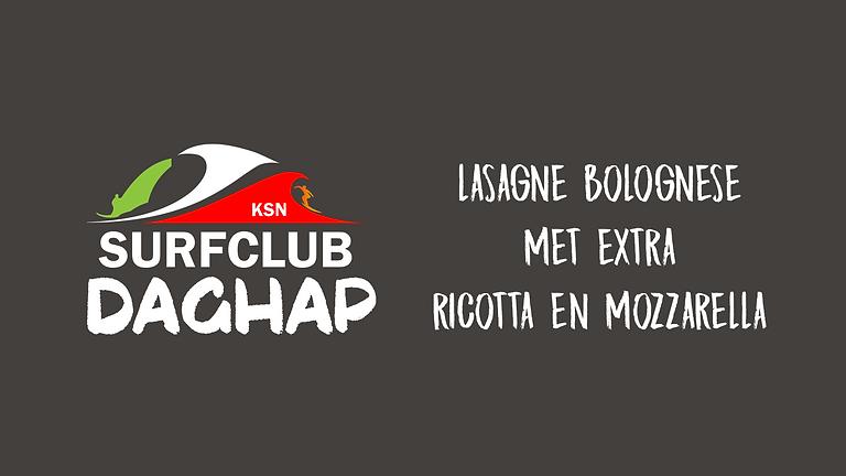 Zondag ALV Daghap | Lasagne Bolognese met ricotta