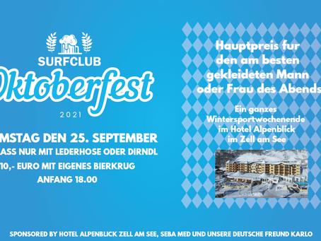 HAUPTPREIS Surfclub Oktoberfest 25 September