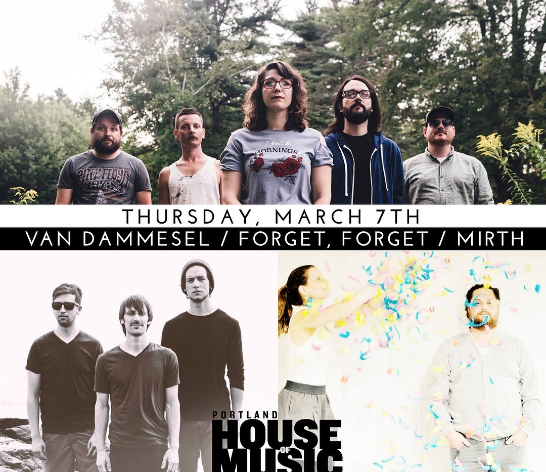 Portland House Of Music (show flyer)