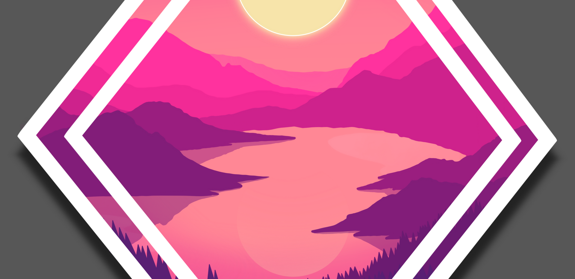 Vaporwave Sunset 2