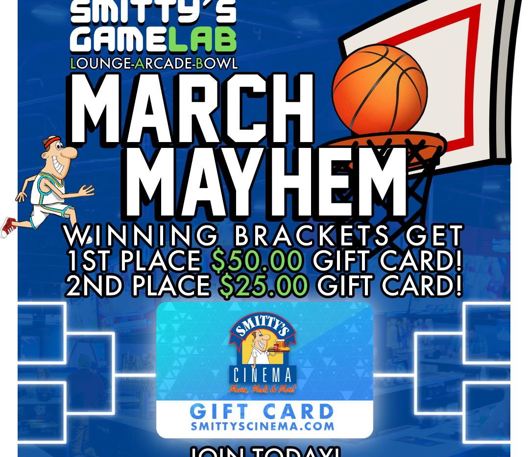 March Mayhem Ad