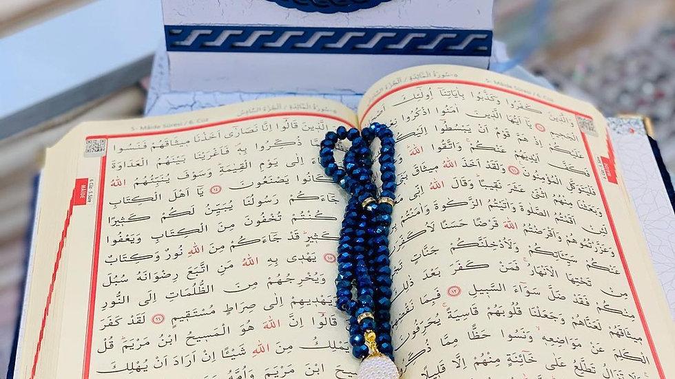 mini quran set , gift , islamic gift set , personalized gift set , quran pink,qu