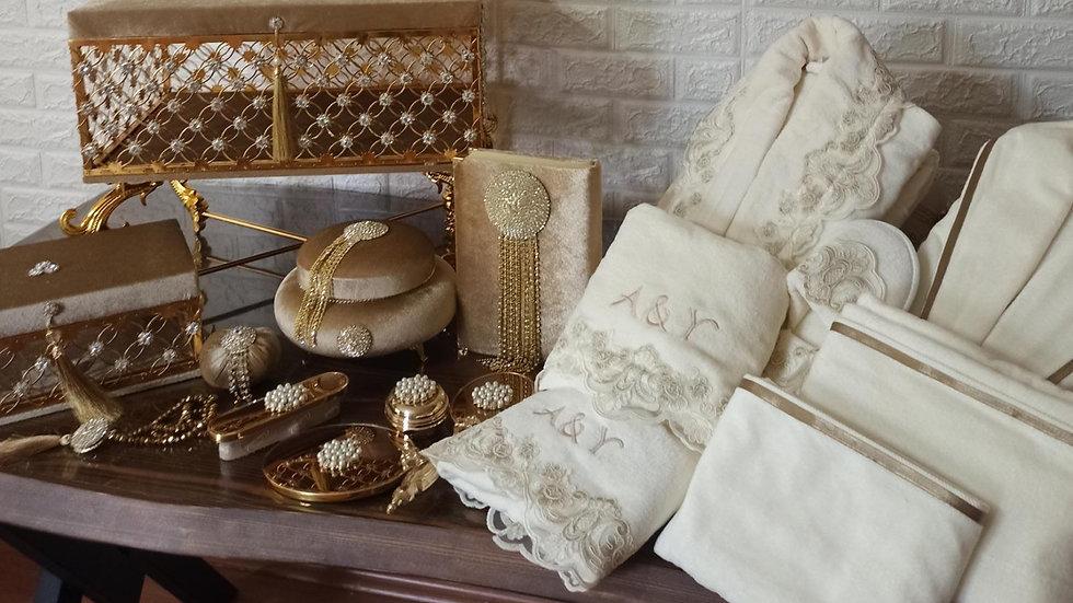 Box set + robe set + Quran set + mirror set