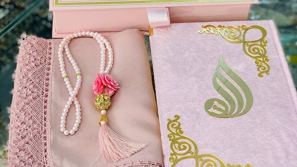 Quran gift set,quran set,islamic prayer set ,Islamic Gift Set, Prayer Mat, Quran