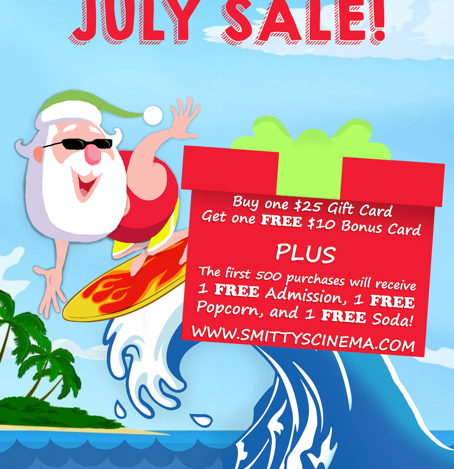 July Sale Poster