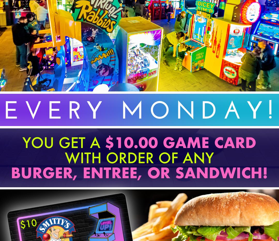 Monday Specials Ad