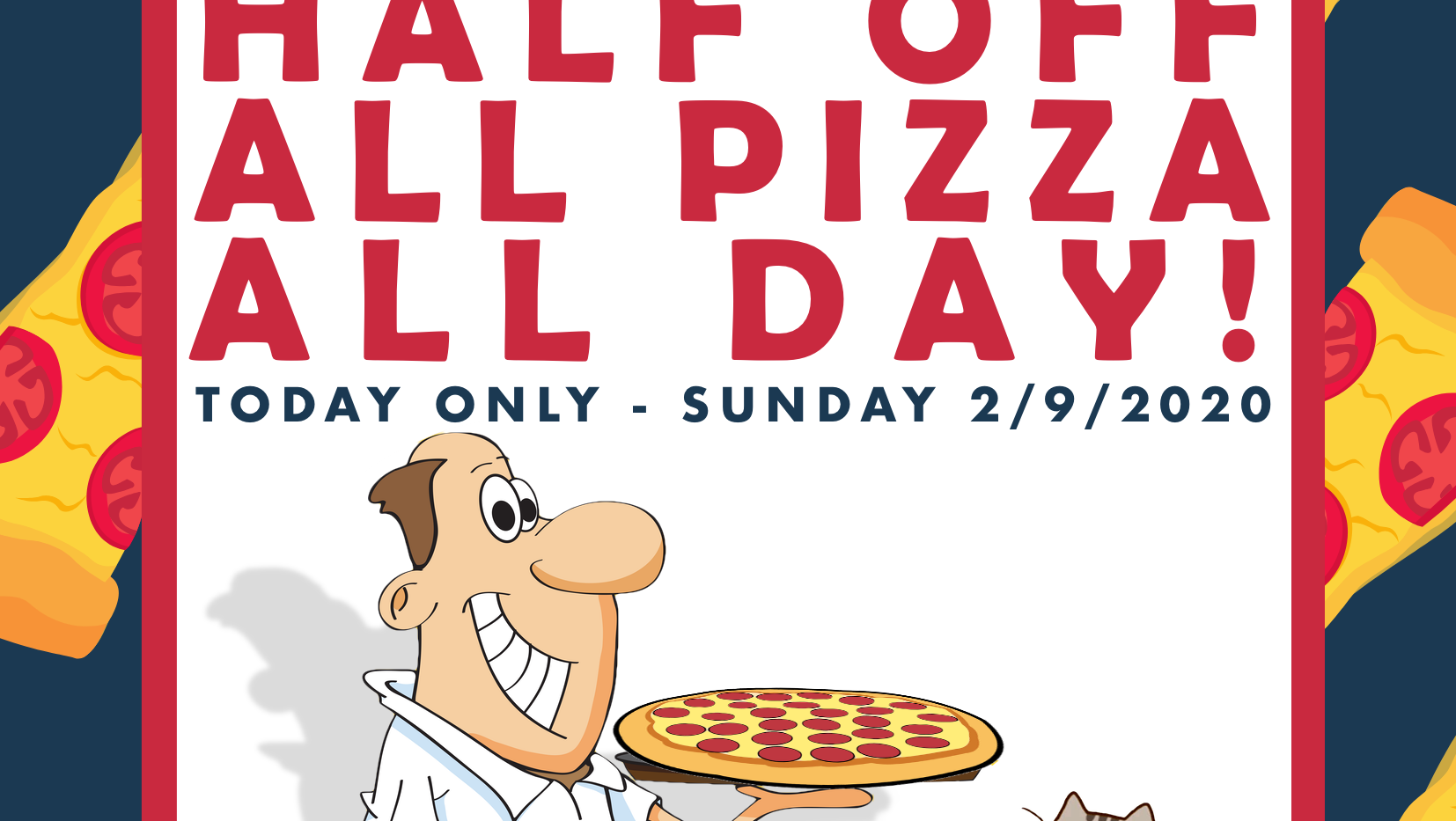 Pizza Day Ad
