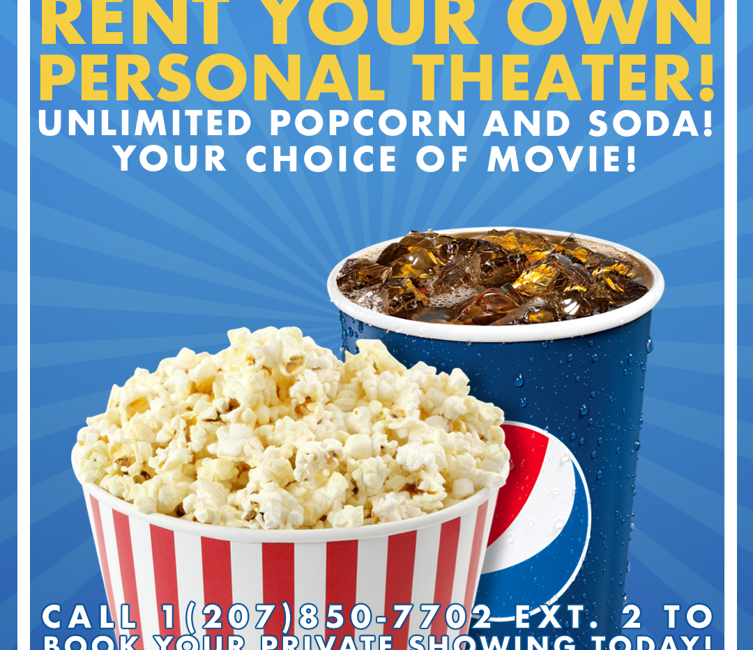 Rent Your Own Theater Ad