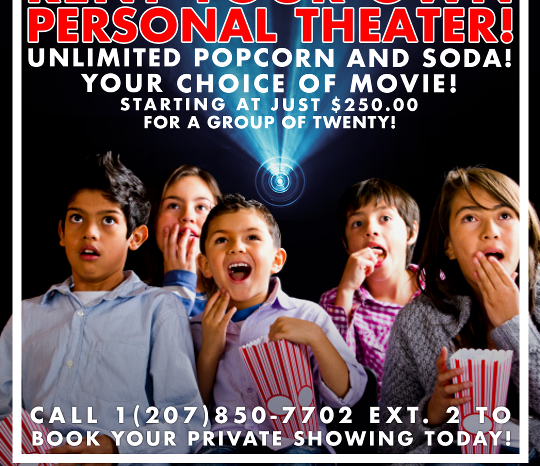 Rent Your Own Theater Ad 2