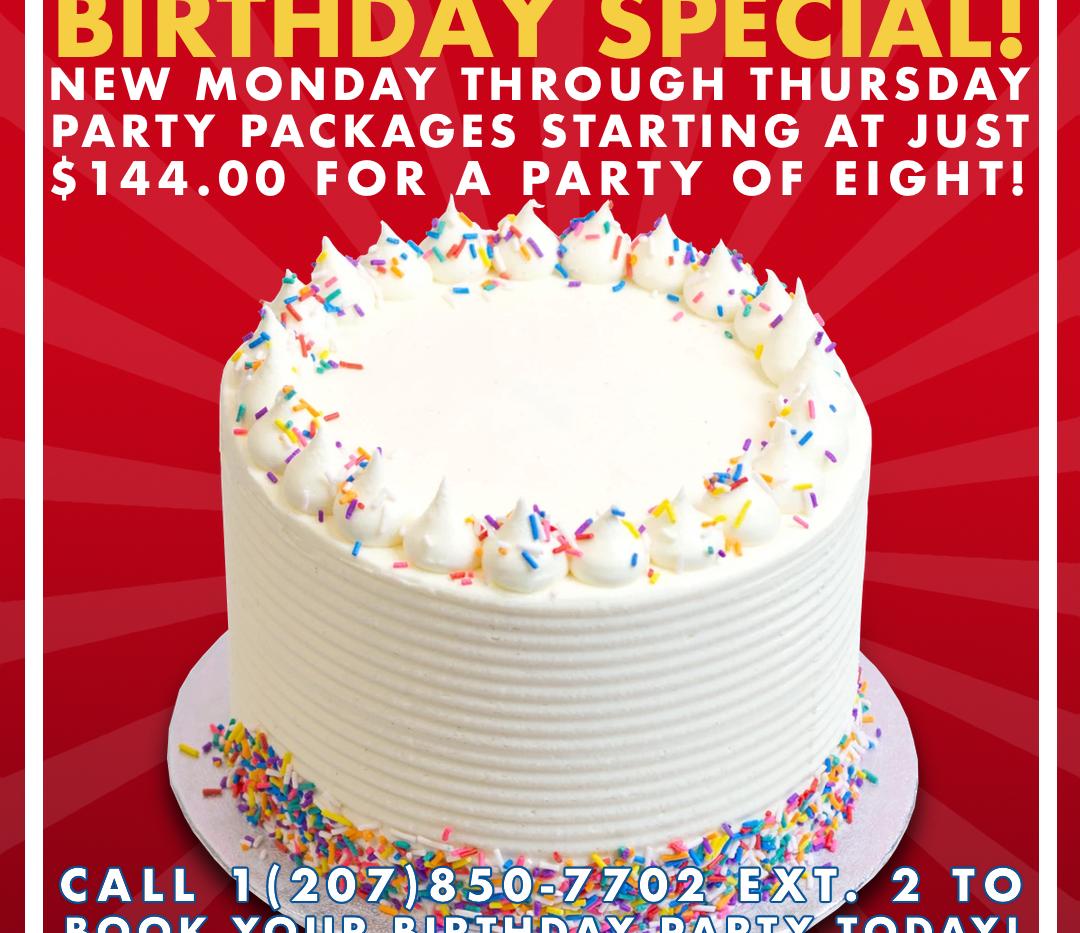 Birthday Special Ad