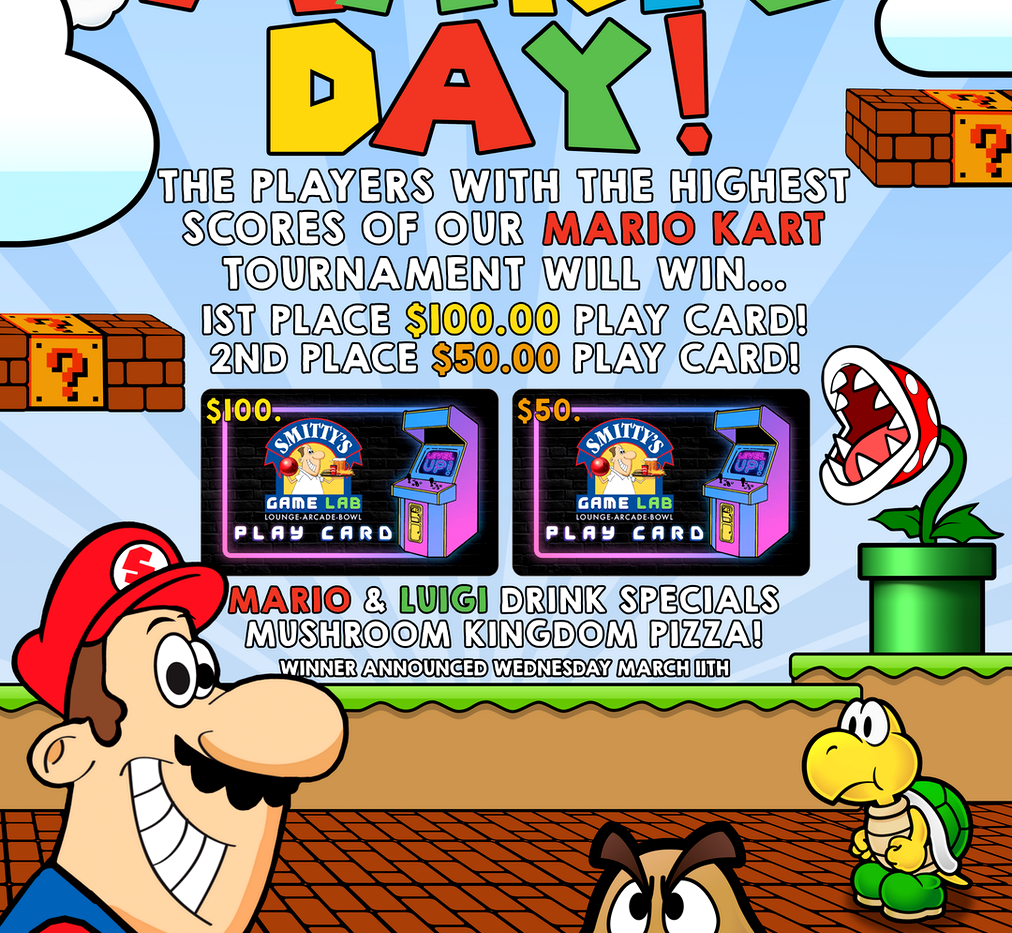 Mario Day Promotional Poster