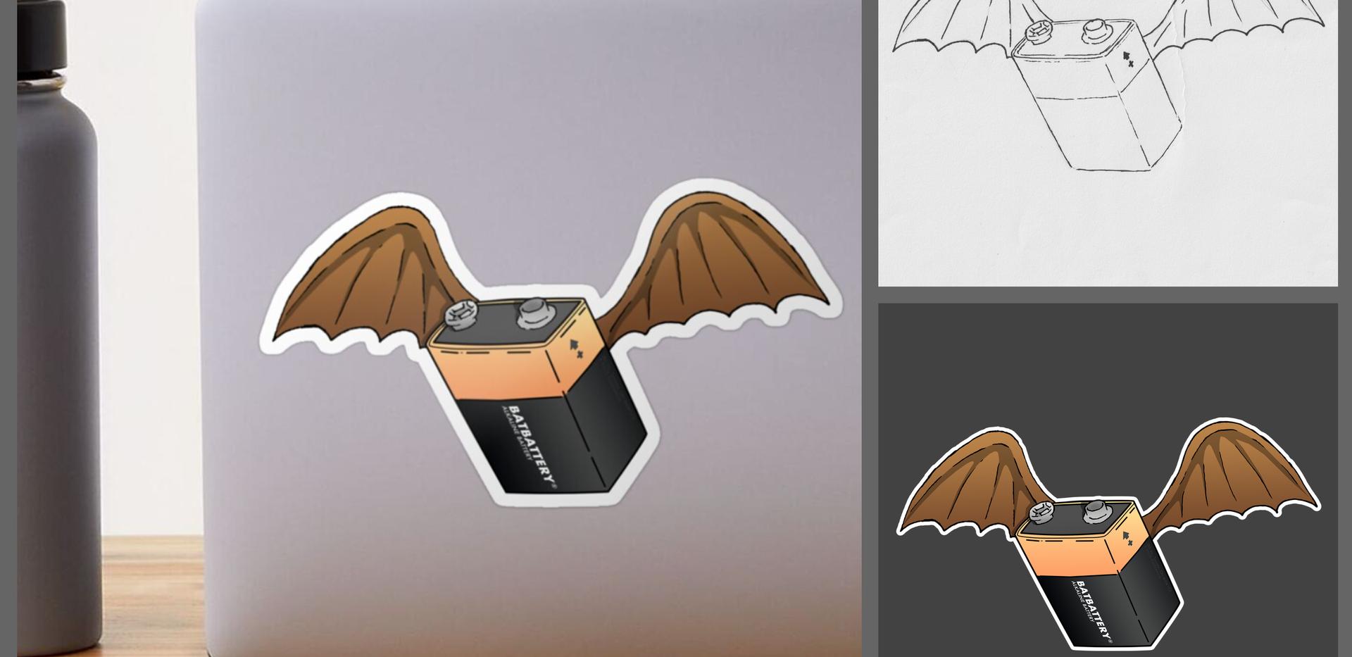 BatBattery (Sticker)