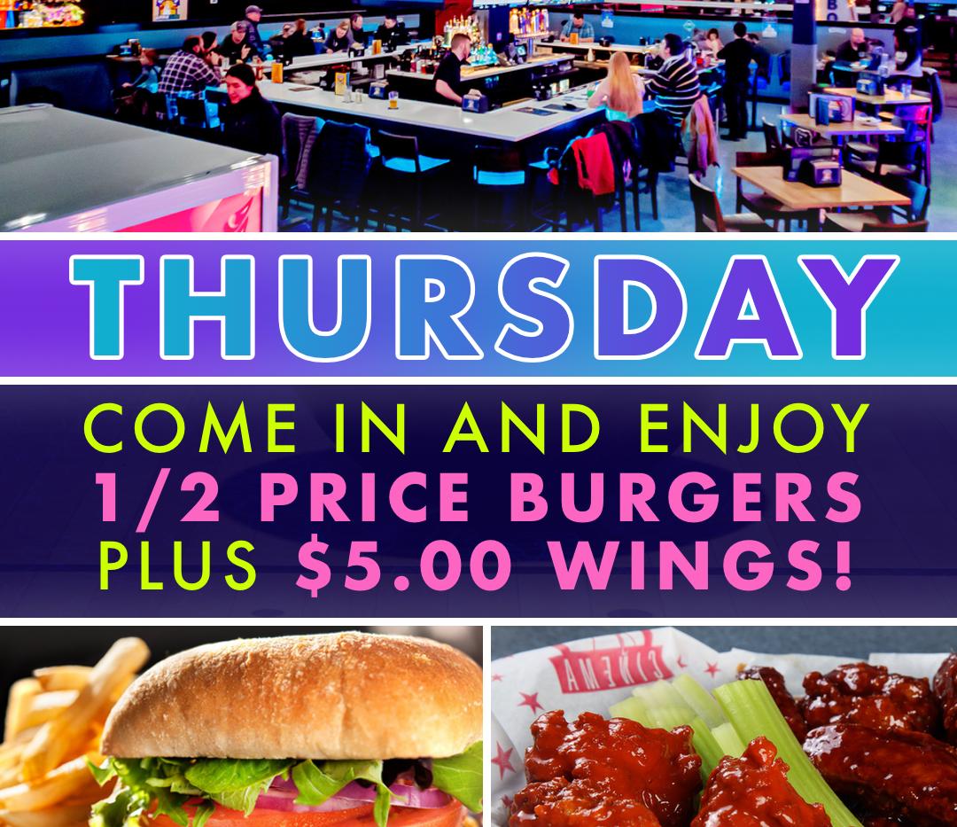 Thursday Specials Ad
