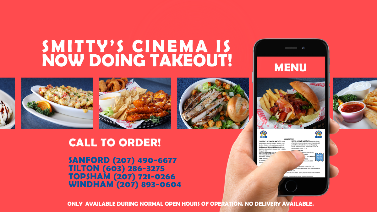 Takeout Announcement Banner