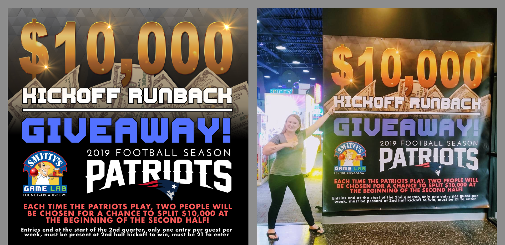 $10,000 Giveaway (Canvas Poster)
