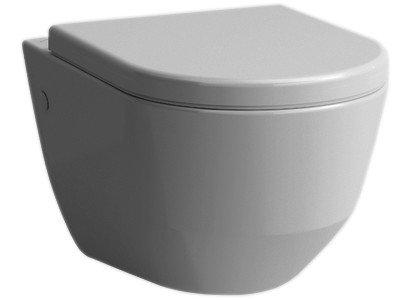 Wandklosett PRO UP rimless, Keramik für Einbauspülkasten Befestigungsmaterial,we