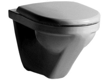 Wandklosett MODERNA R COMPACT UP, rimless, Keramik für Einbauspülkasten, weiss