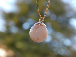 """""""Liquid Gold"""" Pearl Pendant $80"""