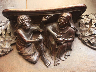 The Medieval World Upside Down  (Misericords)