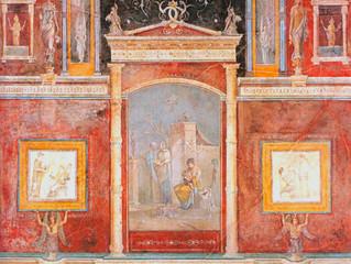 Architectural trompe I'oeil: Italian decorative painting and European interior design