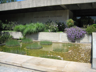 Mr 5% and the Gulbenkian Museum in Lisbon