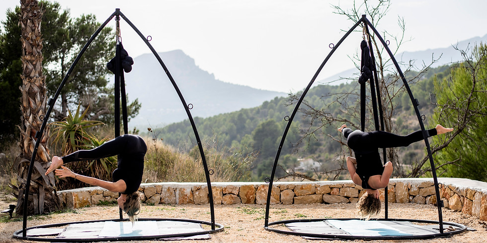 Aerial Yoga Workshop with lunch