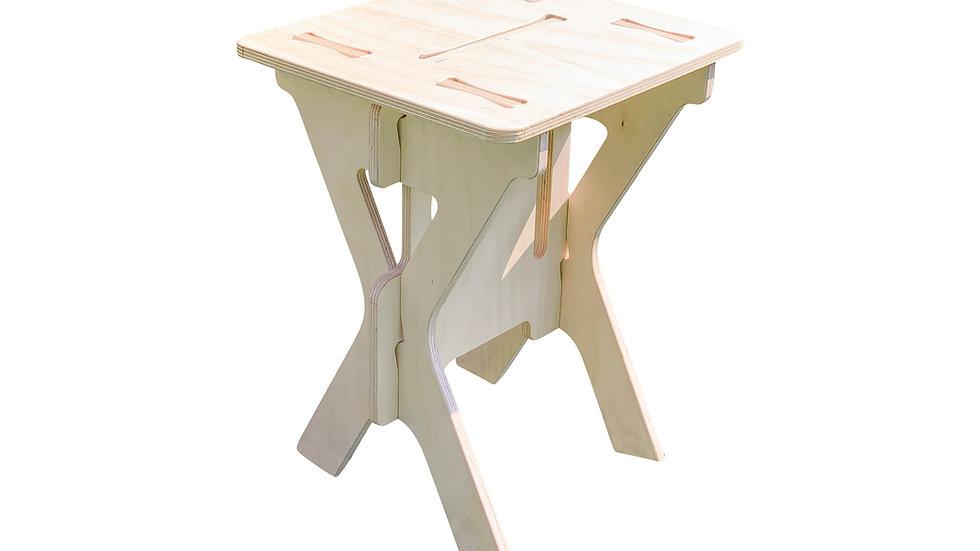 Table d'appoint / table d'appoint / table basse en bois de style scandinave