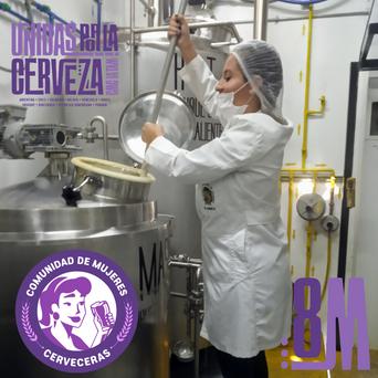 #8M Agenda de eventos solidario de Comunidad de Mujeres Cerveceras  de Latinoamérica