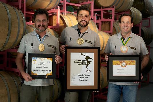 Juguetes perdidos Brewmasters: Ricardo Semilla Aftyca
