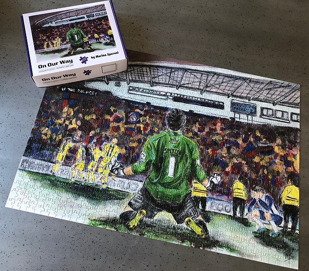'On Our Way' Jigsaw Puzzle