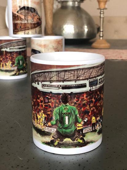 'On Our Way' mug