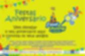 Festas Aniversário para crianças