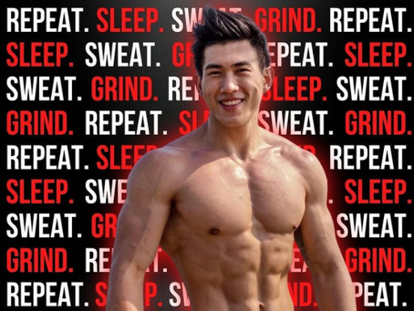 Keeping Fit, Trim and Carbs In Your Fitness Diet: The Story of Daryl Ng's Fitness Journey