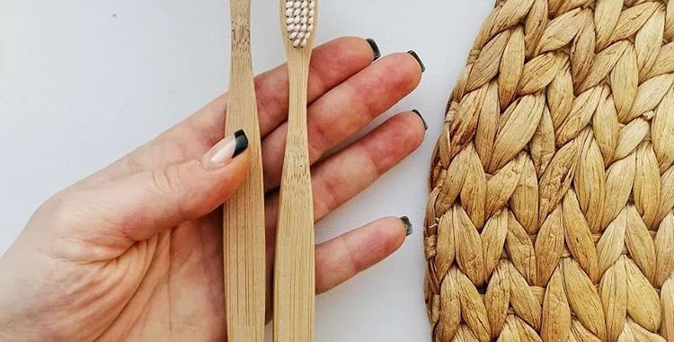 Bamboo Toothbrush (Plant-based)